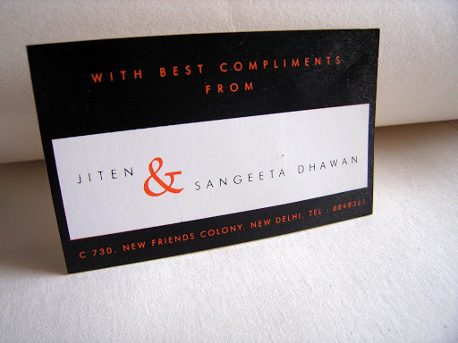Visiting Card: Best Compliments Card