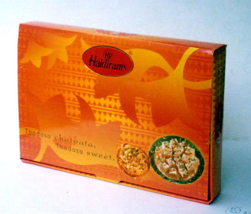 Packaging: Haldiram's Rakhi Pack