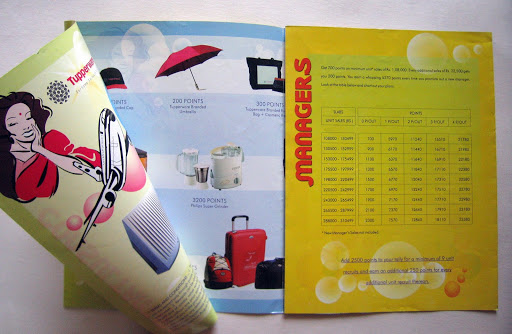 Collateral: Flyer - Tupperware