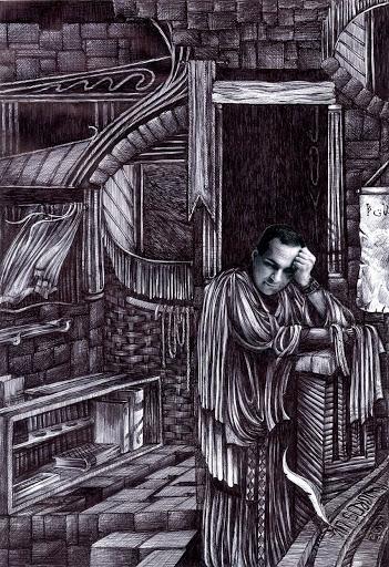 Pen and Ink: Portrait of Shivjeet Kullar