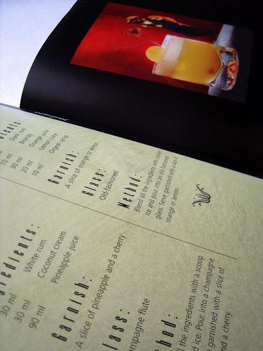 Book Design: 100 Great Cocktails