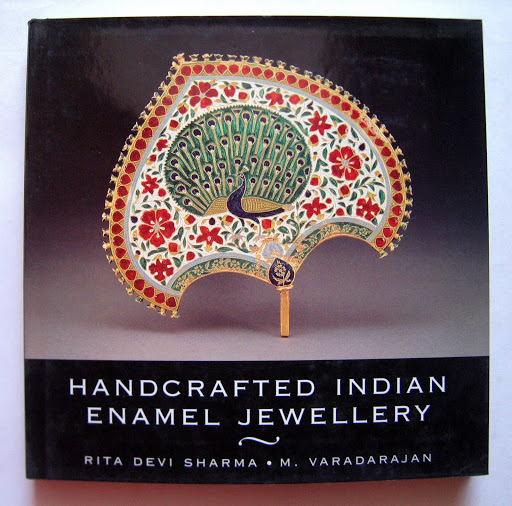 Book Design: Handcrafted Indian Enamel Jewellery (India Crest Series)