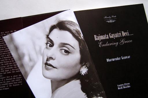 Book Design: Rajmata Gayatri Devi