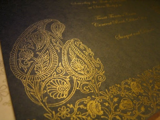 Wedding Card: Vidushi and Prashant