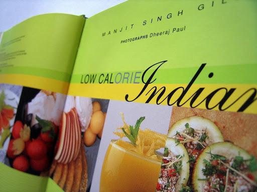 Book Design: Low Calorie Indian