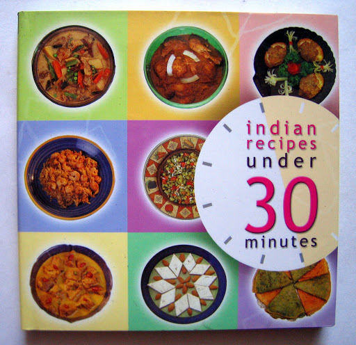 Book Design: Indian Recipes in Under 30 Minutes