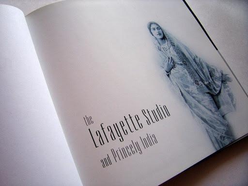 Book Design: The Lafayette Studio and Princely India