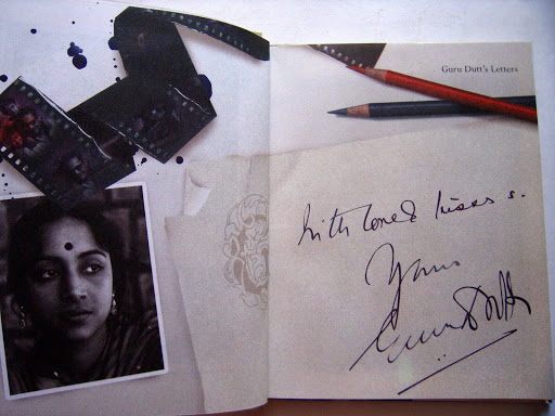 "Book Design: Composite images for the book ""With Love, Yours Guru Dutt"""