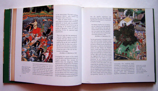 Book Design: Indian Miniature Painting (India Crest Series)