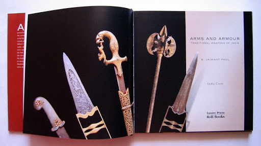 Book Design: Arms and Armour (India Crest Series)