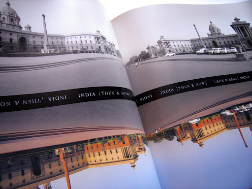Book Design: India - Then & Now