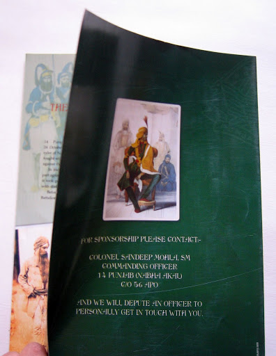 Collateral: 'The Blessed' Leaflet