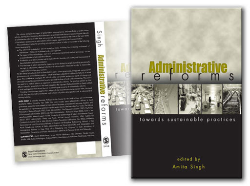 Book Cover: Administrative Reforms