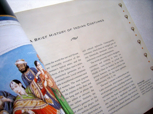 Book Design: Indian Costumes (India Crest Series)