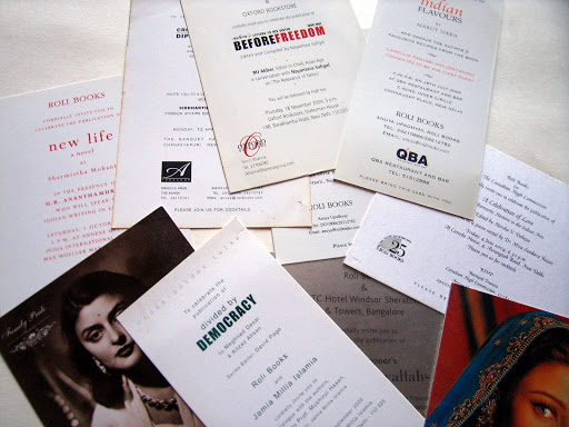 Collateral: Invitation Cards
