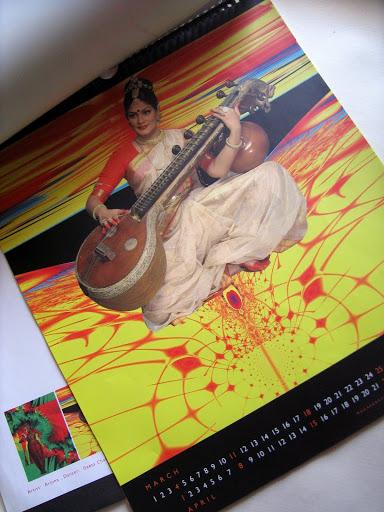 Collateral: Calendar - Natyavriksha
