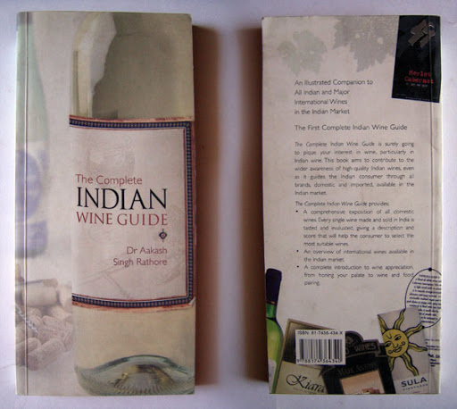 Book Design: The Complete Indian Wine Guide