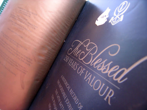 Book Design: The Blessed