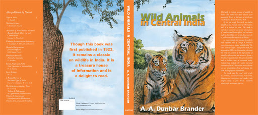 Book Cover: Wild Animals in Central India