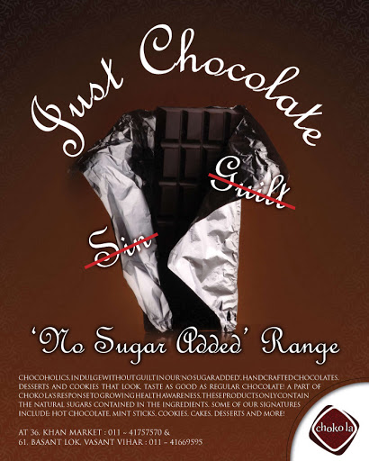 Collateral: Choko La Diet Chocolate Poster