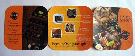 Collateral: Choko La Diwali Brochure