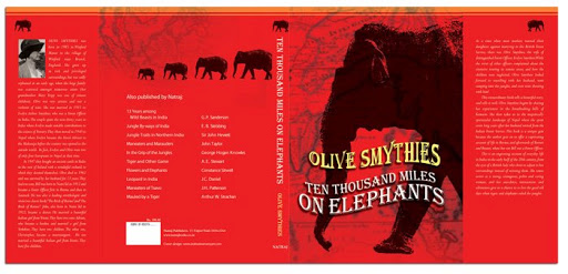 Book Cover: 10,000 Miles on Elephants