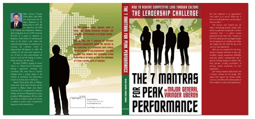 Book Cover: 7 Mantras for Peak Performance