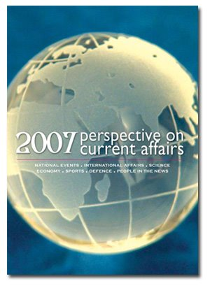 Book Cover: Perspective on Current Affairs, 2006, 2007, 2008