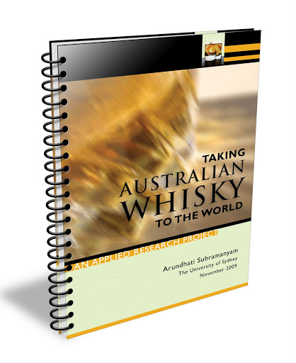 Book Cover: Taking Australian Whisky to the World