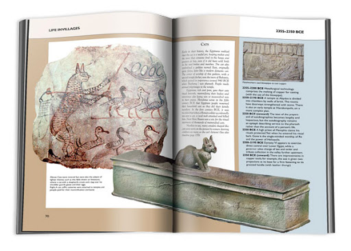 Book Design: The Compact Timeline History of Ancient Egypt