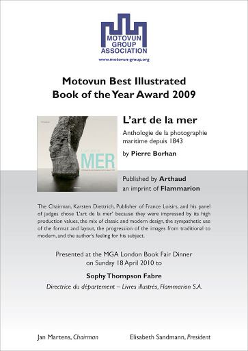 Advertisement & Diploma: Motovun Group Association Awards