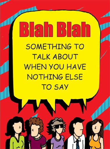 Book Cover: Blah Blah (2011 Edition)