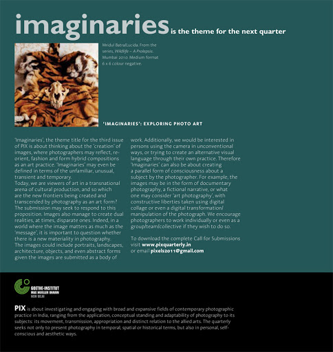 Magazine Design: PIX Issue 2, May 2011