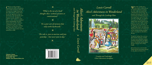 Book Cover: Alice in Wonderland