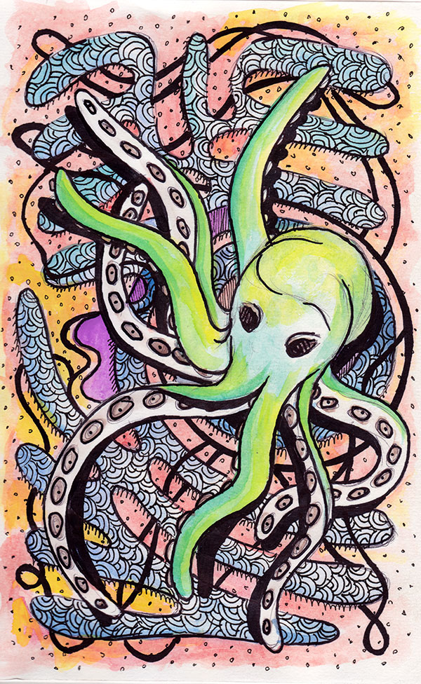 2013 - Arati Devasher - Octopus (Not Paul)